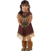 California Costumes Indian Lil Princess Tod 3-4