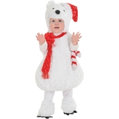 Underwraps Costumes Toddler Christmas Polar Bear Costume 18-24 M