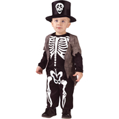 Fun World Toddlers Happy Skeleton Costume, Size 3T-4T