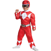 Disguise Ltd. Infant Boys Power Rangers Red Ranger Costume