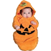 Underwraps Costumes Infant Pumpkin Bunting Costume, 0-6 Months