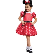 Disguise Ltd. Infant Red Minnie Mouse  Costume 6-12Months