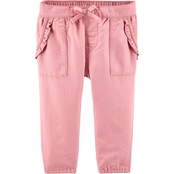 OshKosh B'gosh Infant Girls Floral Ruffle Pants