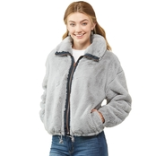 Lucky Brand Short faux fur jacket