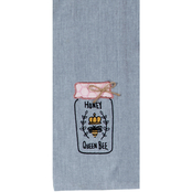 Kay Dee Designs Bee Inspired Embroidered Tea Towel