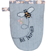 Kay Dee Designs Bee Inspired Embroidered Grabber Mitt