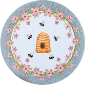 Kay Dee Designs Bee Inspired Braided Placemat