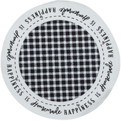 Kay Dee Designs Farmhouse Happiness Braided Placemat