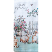 Kay Dee Designs Farmhouse Easter Dual Purpose Terry Towel