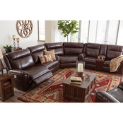 Wyline 3PC Power Reclining Sectional & Recliner