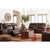 Wyline Power Reclining Sofa, Loveseat & Recliner