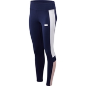 New Balance Athletics Classic Leggings Navy Purple
