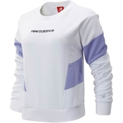 New Balance Athletics Classic Fleece Top White