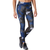 New Balance Impact Tights Print Black Purple
