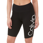 Calvin Klein Performance Calvin Logo High Waist Bike Shorts