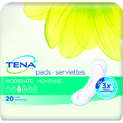 Tena Intimates Pads Moderate 20 ct.