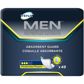 Tena Men's Absorbent Guards Moderate 48 ct.