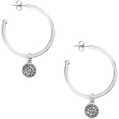 Lucky Brand Reversible Hoop Dangle Earrings