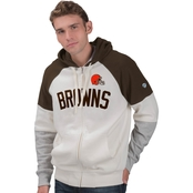 G-III Sports NFL Football Point Check Full Zip Hoodie