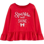 Carter's Girls Mix and Match Sparkle Top