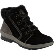 Earth Origins Sherpa Scarlett Waterproof Lace Up Booties