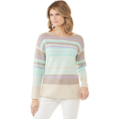 Passports Multi Stripe Sweater