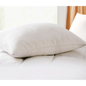 Blue Ridge Home Fashions Geneva White Goose Feather and Down Pillow