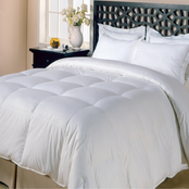 Blue Ridge Home Fashions Copenhagen White Goose Down Feather Comforter, Extra Warm