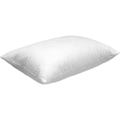 Blue Ridge Home Fashions Stockholm White Goose Feather Down Quilted Cover Pillow