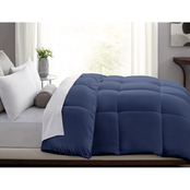 Blue Ridge Home Fashions Microfiber Color Down Alternative Comforter