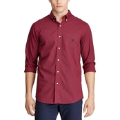 Easy Care Stretch Button Down Shirt