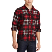 Performance Flannel Button-Down Shirt