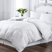 Kathy Ireland Home Essentials Microfiber White Down and Feather Comforter