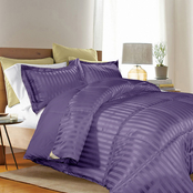 Kathy Ireland Home Microfiber Reversible Down Alternative Comforter 3 pc. Set