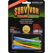 Green Keepers, Inc. Survivor Tour Golf Tees