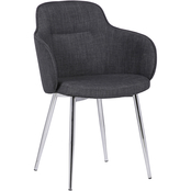 Armen Living Tammy Contemporary Dining Chair