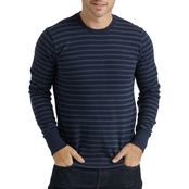 Lucky Brand Stripe Thermal Crew Neck Shirt