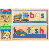 Melissa & Doug See and Spell Learning Puzzle