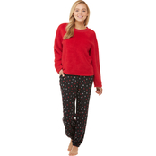 Sleep Zenista Crew Neck Pull Over and Slim Leg Pants 2 pc. Set