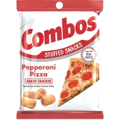 Combos Pepperoni Pizzeria Baked Cracker Stuffed Snacks