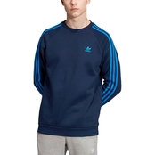 adidas 3 Stripes Crew Sweatshirt