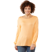 Passports Tacked Sleeve Top