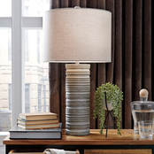 Signature Design by Ashley Nadyia 30 in. Paper Table Lamp 2 pk.
