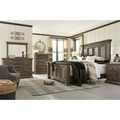 Signature Design by Ashley Wyndahl Panel Bed 5 pc. Set