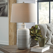 Signature Design by Ashley Marnina Ceramic Table Lamp 2 pk.