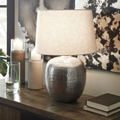 Signature Design by Ashley Magalie 23 in. Metal Table Lamp