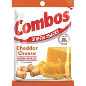 Combos Cheddar Cheese Baked Pretzel Stuffed Snacks