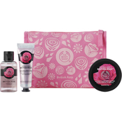 The Body Shop Petal-Soft British Rose Delights Bag