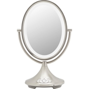 Alexa Voice Service Enabled 9 in. Double-sided Vanity Mirror