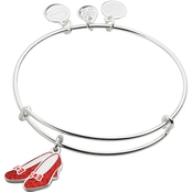 Alex and Ani Wizard of Oz Glitter Ruby Slippers Bangle